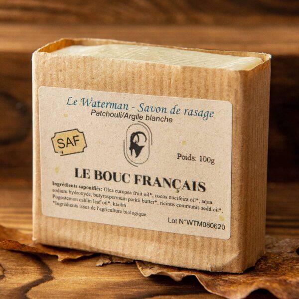 Savon de rasage le Waterman Le Bouc Francais