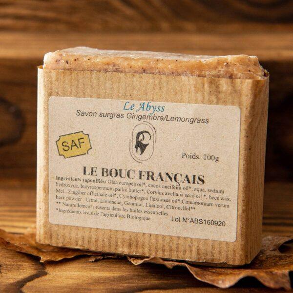 Savon lAbyss Le Bouc Francais